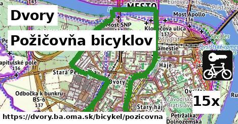 ilustračný obrázok k Požičovňa bicyklov, Dvory