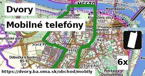 mobilné telefóny v Dvory