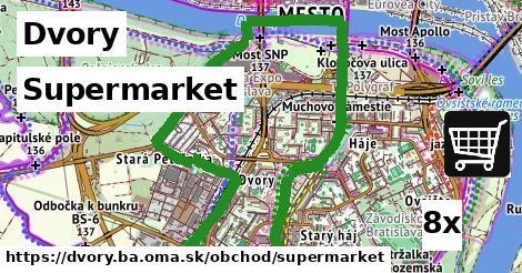 supermarket v Dvory