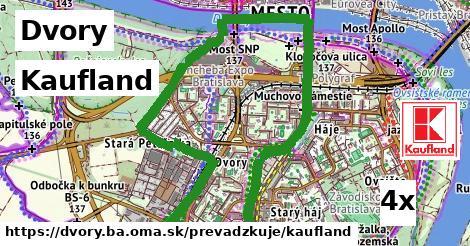 Kaufland v Dvory