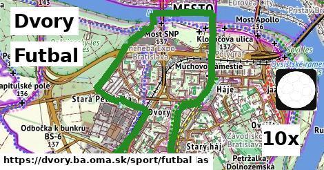 futbal v Dvory