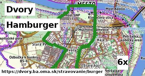 hamburger v Dvory