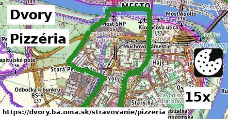 pizzéria v Dvory