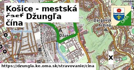 čína v Košice - mestská časť Džungľa
