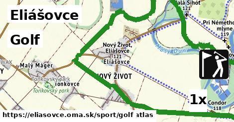 golf v Eliášovce