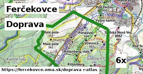 doprava v Ferčekovce