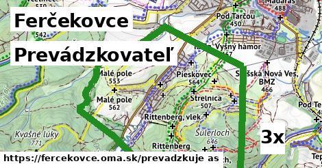 prevádzkovateľ v Ferčekovce