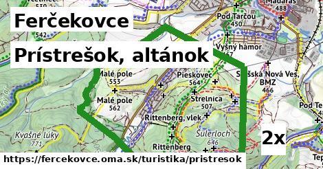 prístrešok, altánok v Ferčekovce
