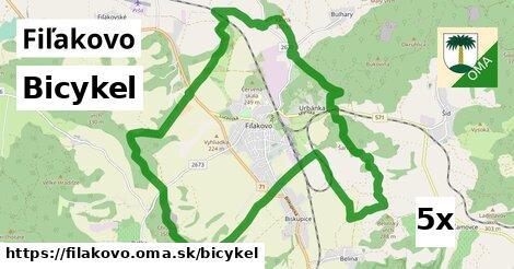 bicykel v Fiľakovo