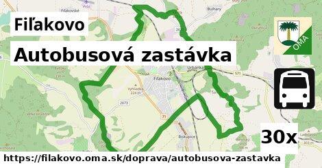 ilustračný obrázok k Autobusová zastávka, Fiľakovo