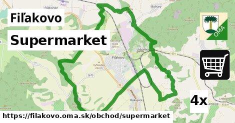 ilustračný obrázok k Supermarket, Fiľakovo