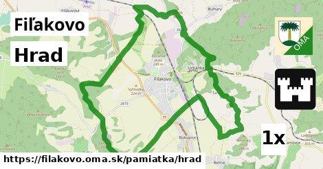 ilustračný obrázok k Hrad, Fiľakovo