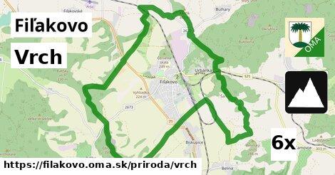 ilustračný obrázok k Vrch, Fiľakovo