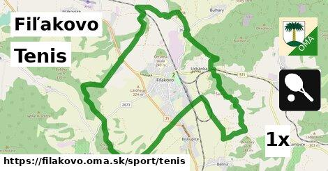 ilustračný obrázok k Tenis, Fiľakovo