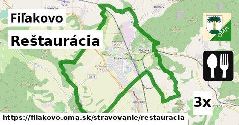 ilustračný obrázok k Reštaurácia, Fiľakovo
