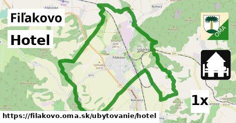 ilustračný obrázok k Hotel, Fiľakovo