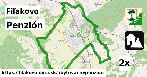 penzión v Fiľakovo