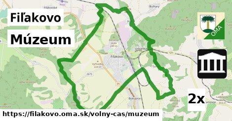 ilustračný obrázok k Múzeum, Fiľakovo