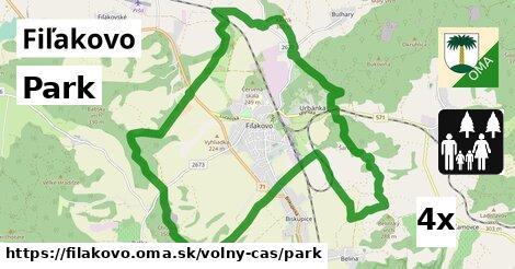 park v Fiľakovo