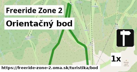 ilustračný obrázok k Orientačný bod, Freeride Zone 2