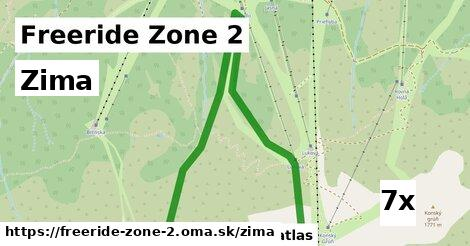 zima v Freeride Zone 2