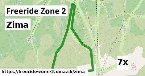 zima v Freeride Zone 2
