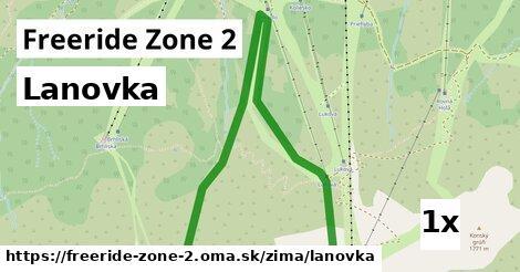 ilustračný obrázok k Lanovka, Freeride Zone 2