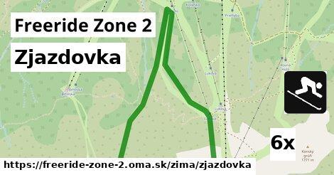 ilustračný obrázok k Zjazdovka, Freeride Zone 2