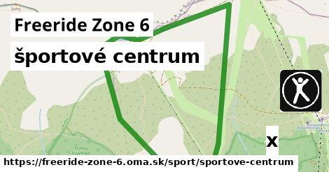 ilustračný obrázok k športové centrum, Freeride Zone 6