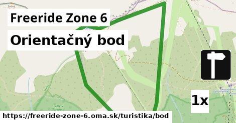ilustračný obrázok k Orientačný bod, Freeride Zone 6
