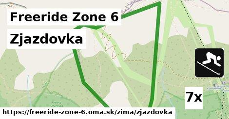 ilustračný obrázok k Zjazdovka, Freeride Zone 6