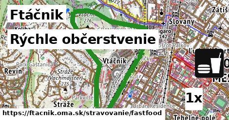 rýchle občerstvenie v Ftáčnik