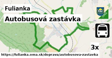 ilustračný obrázok k Autobusová zastávka, Fulianka