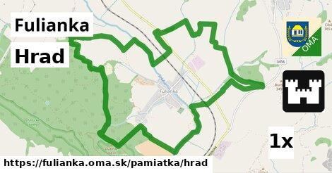 hrad v Fulianka