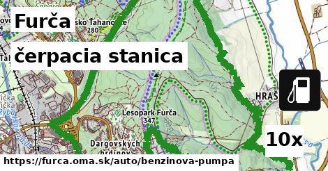 čerpacia stanica v Furča