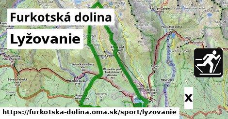 lyžovanie v Furkotská dolina