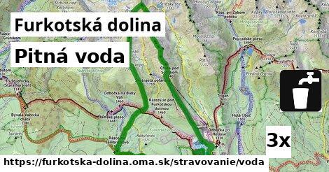 pitná voda v Furkotská dolina