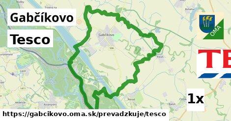 Tesco v Gabčíkovo