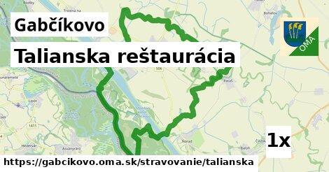 talianska reštaurácia v Gabčíkovo