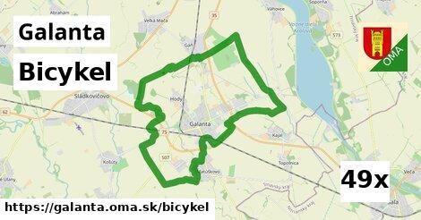 bicykel v Galanta