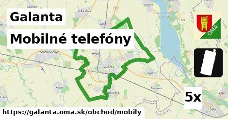mobilné telefóny v Galanta