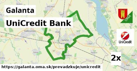 ilustračný obrázok k UniCredit Bank, Galanta