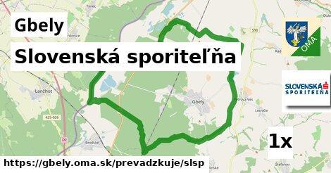 ilustračný obrázok k Slovenská sporiteľňa, Gbely