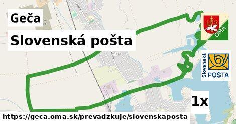 Slovenská pošta v Geča