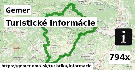 ilustračný obrázok k Turistické informácie, Gemer