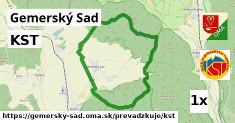 ilustračný obrázok k KST, Gemerský Sad