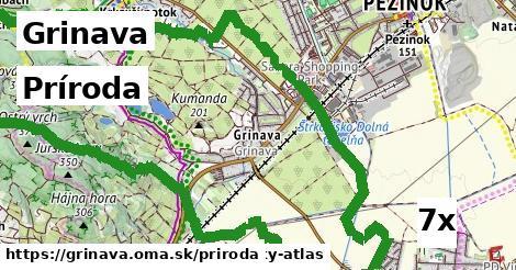 príroda v Grinava