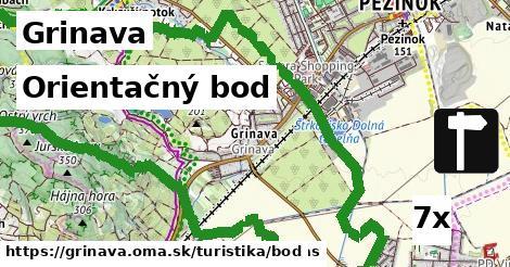 orientačný bod v Grinava