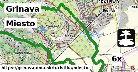 miesto v Grinava