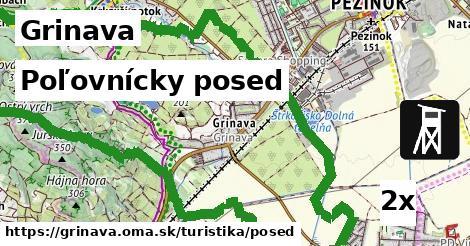 poľovnícky posed v Grinava